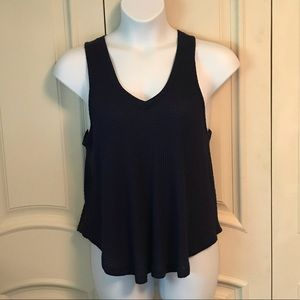 NWT Adorable Waffle Weave Tank Top, Large